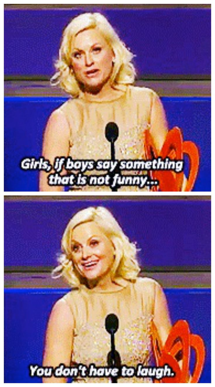 Amy Poehler and staying true to yourself