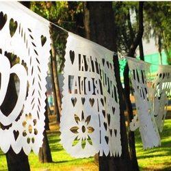 Mexican Papel Picado Banner