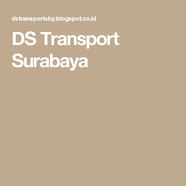 DS Transport Surabaya