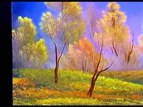 Боб Росс - Учимся рисовать осенний день (4 сезон) - YouTube