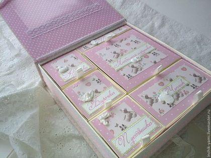 Подарки для новорожденных, ручной работы. Ярмарка Мастеров - ручная работа мамины сокровища для девочки. Handmade.
