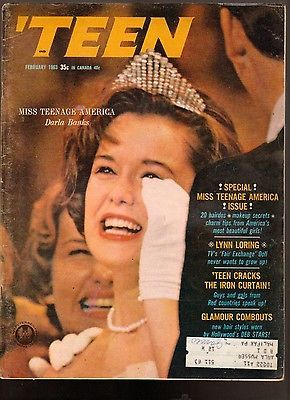 February 1963 cover with Darla Banks, Miss Teen America