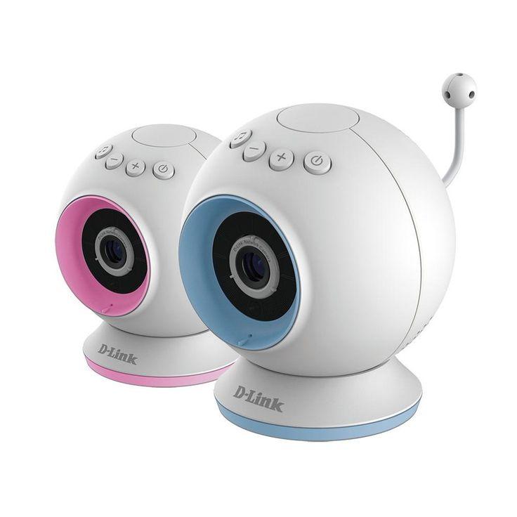 Valvova silmä seuraamaan pikkutonttujen liikkeitä: D-Link Eye On Baby Cam Video/Itkuhälytin | Lastentarvike.fi