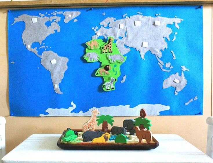Путешествие в Африку.