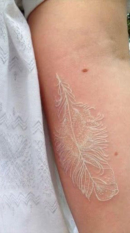 36++ Astonishing White tattoo on dark skin over time image ideas