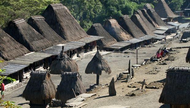 Sisa-Sisa Megalitikum di Desa Bena, Flores