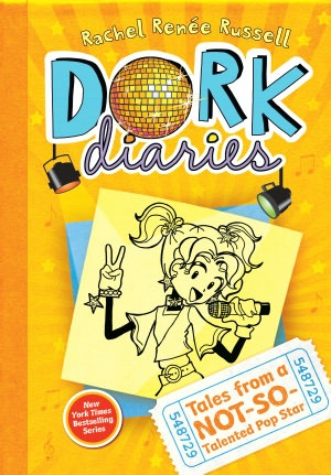 Tales from a Not-So-Talented Pop Star (Dork Diaries Series #3) by Rachel Renee Russell