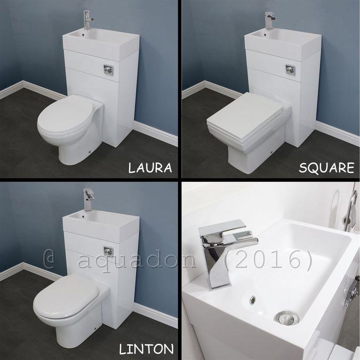 btw 500mm bathroom space saving wc toilet u0026 basin sink combination cloakroom