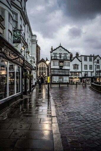 Exeter, Devon, SW England, UK.