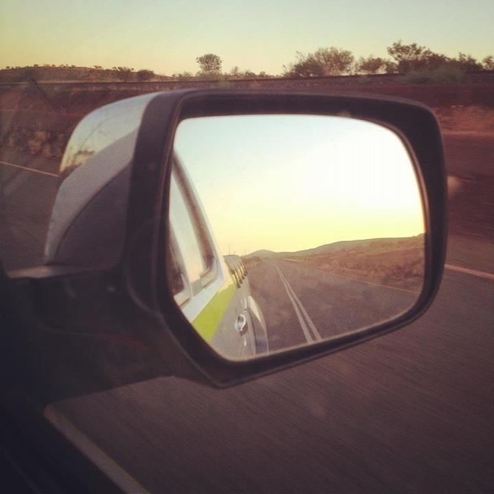 on the road, Newman, Western Australia