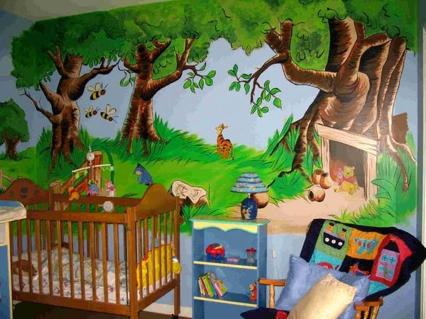 Winnie The Pooh Wall Mural Part 84