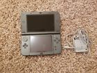 "32GB Nintendo ""New"" 3DS XL Black System IPS Screen 60 Games Pokemon Sun Moon"