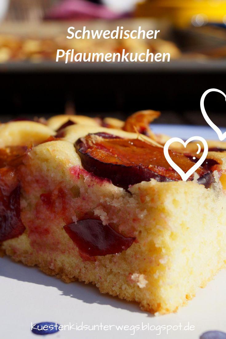 Rezept: Schwedischer Pflaumenkuchen vom Blech