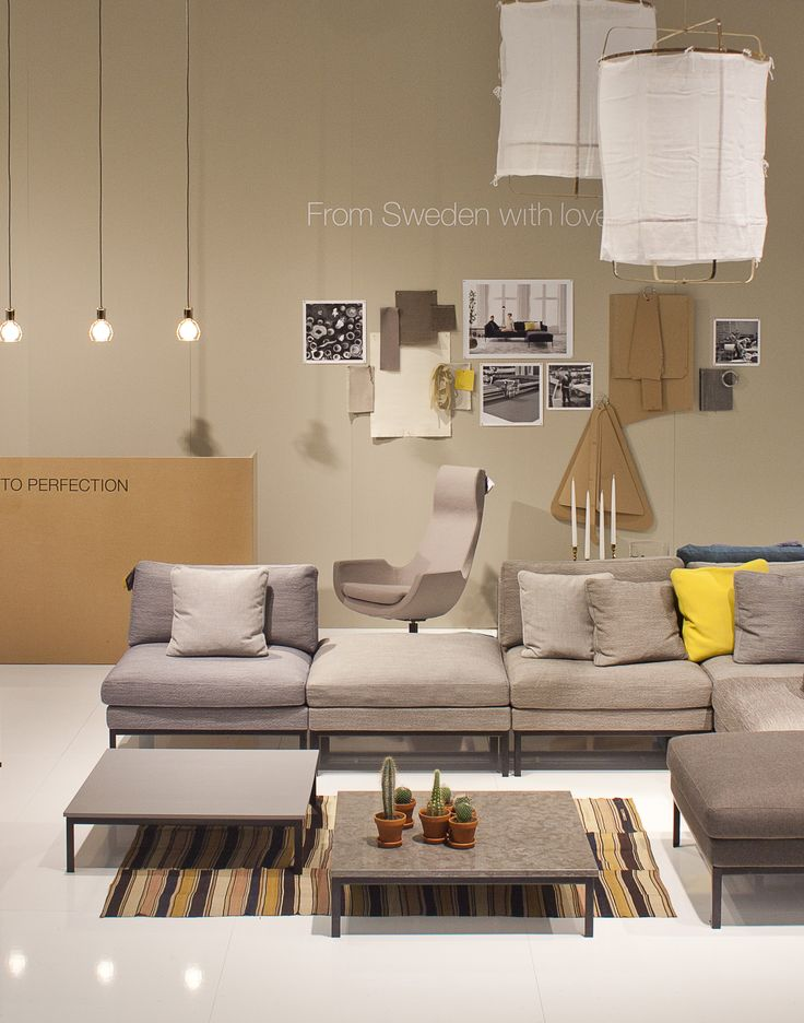 Ire Möbels stand at the Stockholm Furniture Fair 2012, styled by me…