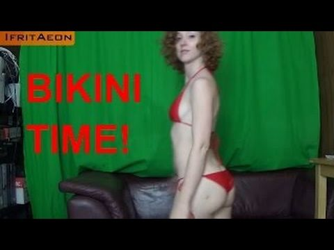 The Red Bikini for HUMPDAY