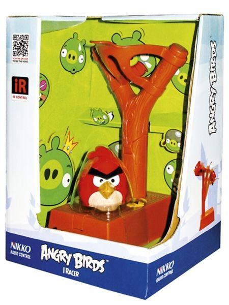 Nikko iRacer Angry Birds, punainen  Sinkauta vihainen lintu ilmojen halki napeista ohjattavalla ritsalla. Ohjain toimii kolmella AAA/LR6 -paristolla, jotka ostetaan erikseen. Linnussa on sisäänrakennettu akku, joka ladataan ohjaimesta. 8+