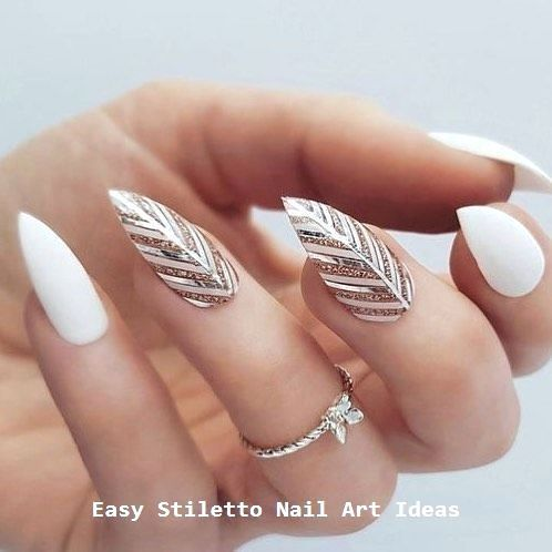 30 Ideas for a Great Stiletto Nail Design # Styletails #nailart – Nägel
