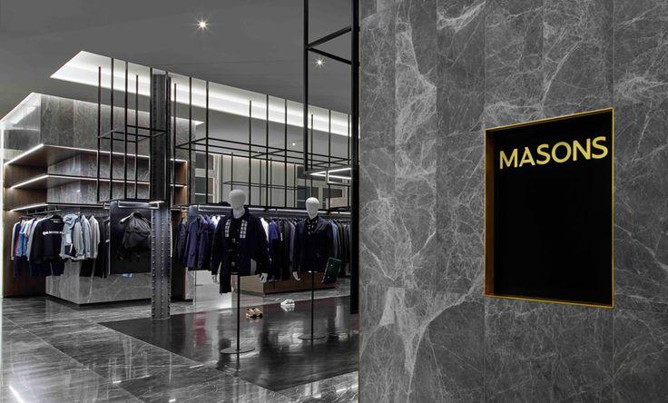 MASONS Brings Exclusive Luxury Menswear To Melbourne's Fashion Precinct -