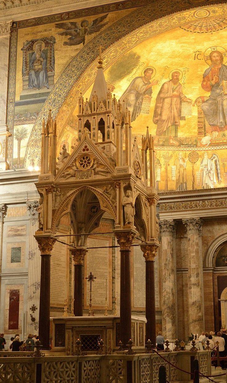 Arnoldo di Cambio, Ciborio S. Paolo fuori le mura, 1284-85