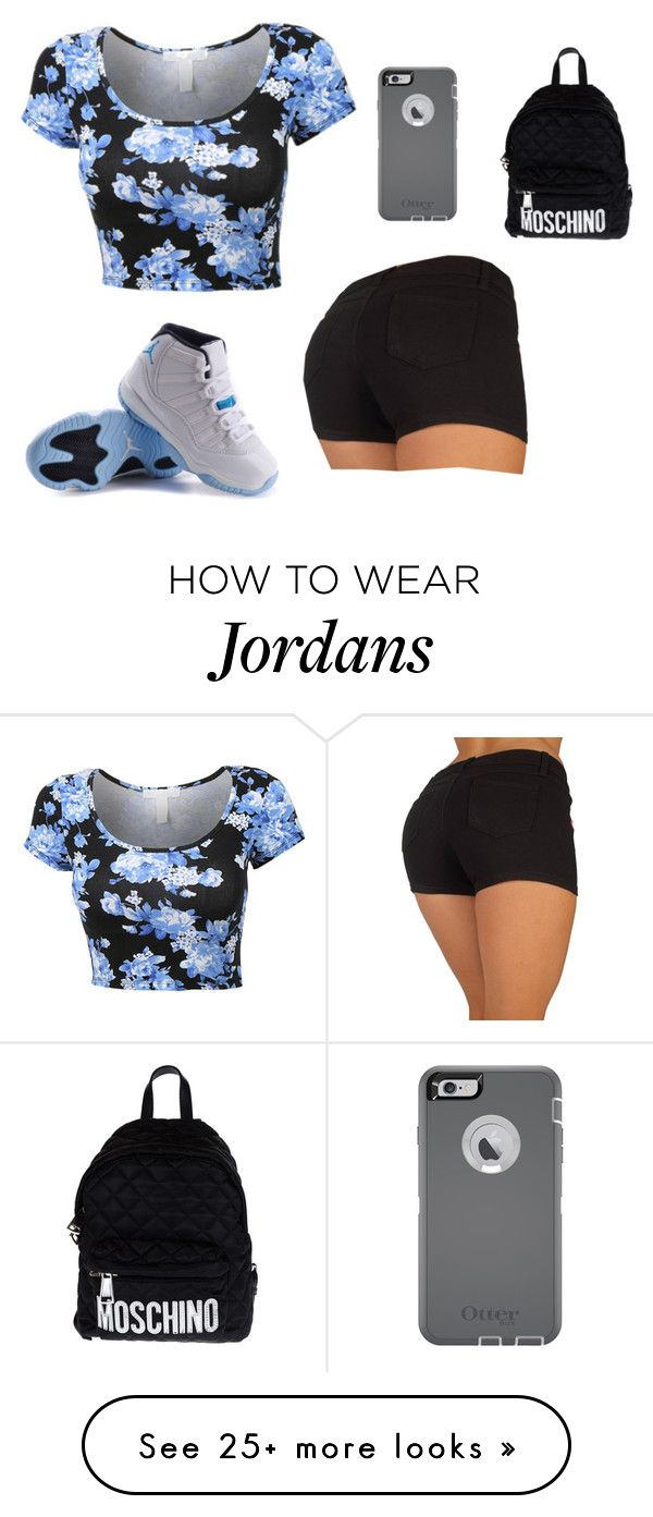 """Untitled #1103"" by august-baee on Polyvore featuring NIKE, OtterBox, Moschino, women's clothing, women, female, woman, misses and juniors"