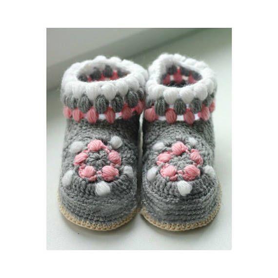 handmade crochet slippers house shoes for girls crochet