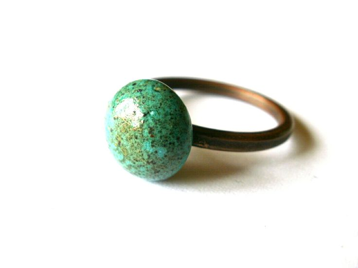 Glazed ceramics ring