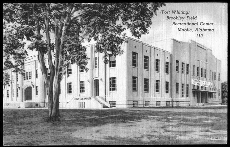 Fort whiting auditorium at brookley field afb mobile
