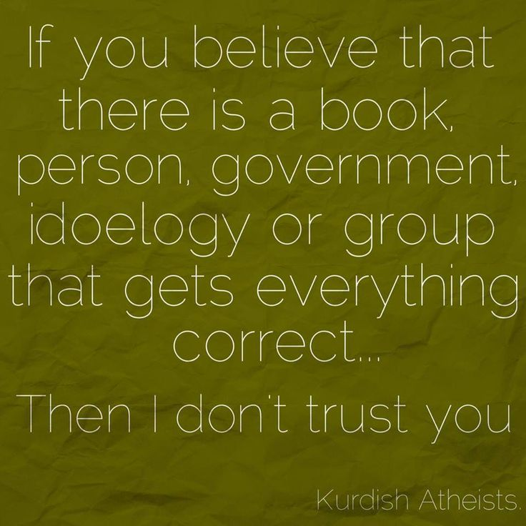 And that's because you have zero credibility. Work on that. :P - http://holesinthefoam.us/thenidonttrustyou/