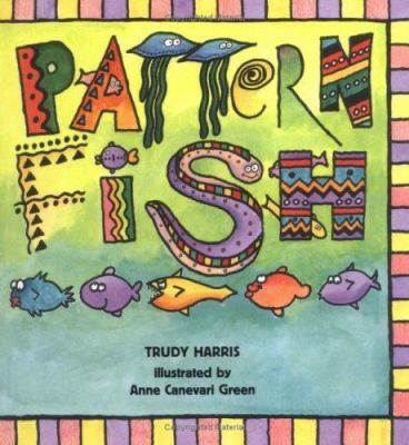 Illustrations and rhyming text describe various patterns depicted by different fish. Includes related activities.