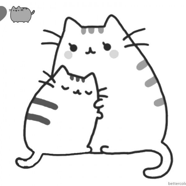 Pusheen Coloring Pages Cute Dinosaur Hat Free Printable Coloring Pages Pusheen Coloring Pages Free Kids Coloring Pages Cat Coloring Page