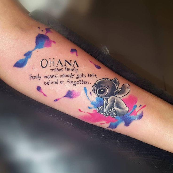 40 Ideen für Ohana Tattoo: Das Symbol für Familie und Freundschaft