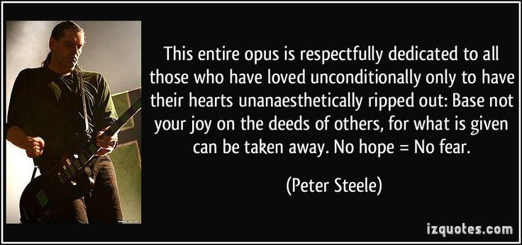 Peter Steele Peter Steele Type O Negative Steele