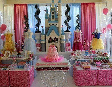 Cumpleaños de princesas Disney