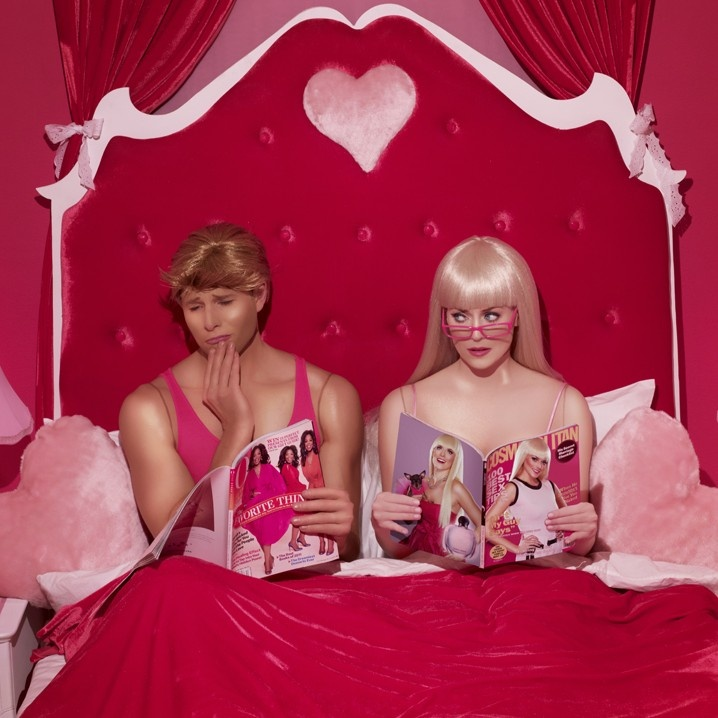 In The Dollhouse: Dolls Houses, Dina Goldstein, Real Life, The Real, Dark Side, Barbie And Ken, Photo, Dollhouses, Dinagoldstein