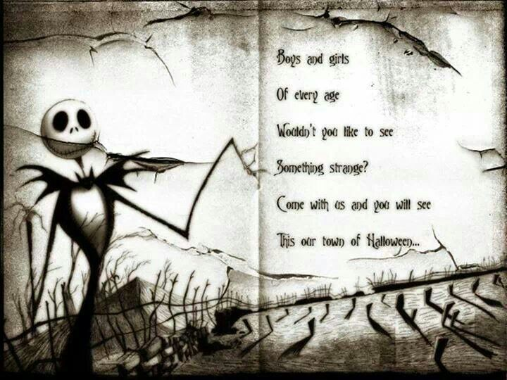 Tim Burton's The Nightmare Before Christmas Quotes. QuotesGram