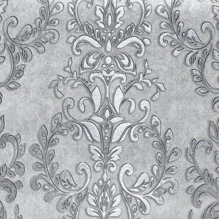 Classic Wallpaper Serena Damask Muriva 70145
