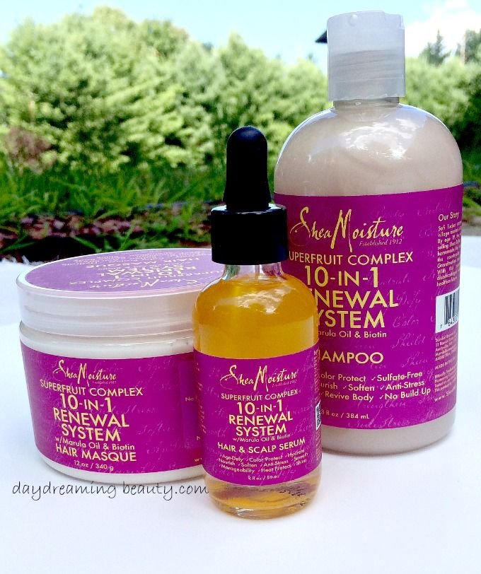Shea Moisture Superfruit Renewal System daydreamingbeauty.com #cruletyfree #haircare