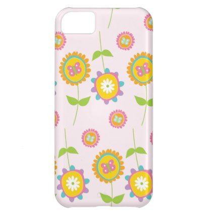 Country Easter Flower Holiday Spring Cover For iPhone 5C - holidays diy custom design cyo holiday family