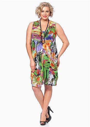 #TS14+ Sweet Petunia Dress #plussize #curvy