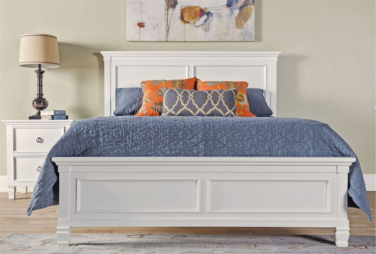 Albany Eastern King Panel Bed - Living Spaces