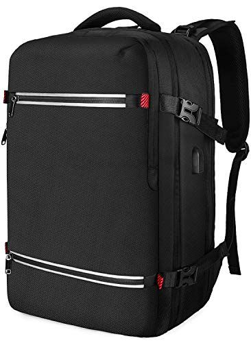8595047fbcb4 The perfect NUBILY Laptop Backpack 17.3 Inch Water Resistant Large USB  Charging Travel Business Anti-