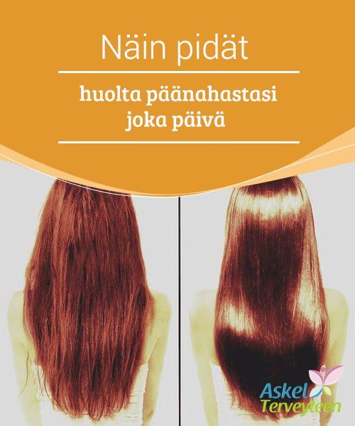 Näin pidät huolta päänahastasi joka päivä   Ikävä kyllä monet kaupan #hiustenhoitotuotteista #keskittyvät vain hiuksiin, eivät ollenkaan niiden #syntypaikkaan eli päänahkaan.  #Kauneus