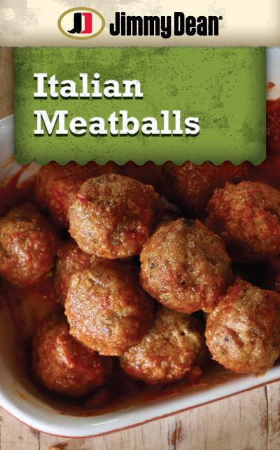 Nothing is more timeless than a plate of spaghetti and Italian meatballs. This dinner #recipe uses Jimmy Dean Pork Sausage to turn up the flavor on a beloved classic.