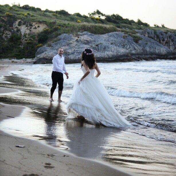 Beac wedding photo