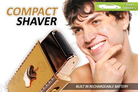 Trendy handy european style compact shaver, great gift idea and travel friendly only Rp 84.990 http://groupbeli.com/view.php?id=803