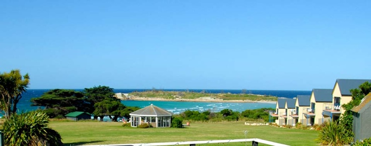 Diamond Island Resort -Tasmania! Best place to go for a holiday. They even bake fresh bread for you daily :)