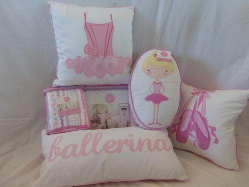 Sweet Jojo Designs Ballerina Collection  Pc Toddler Bedding Set