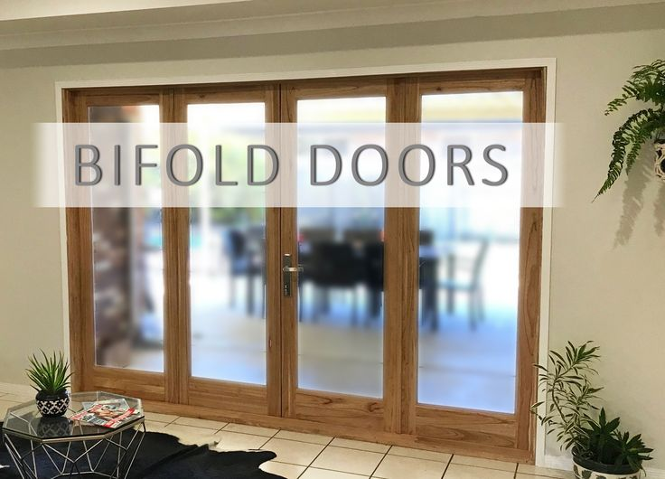 Bifold doors are a great way to let in more light to dark rooms! Transform your living space into something more open plan with these 2 or 4 panel bifold doors https://www.lloydsonline.com.au/AuctionLots.aspx?smode=0&aid=7556&utm_content=bufferfcf13&utm_medium=social&utm_source=pinterest.com&utm_campaign=buffer