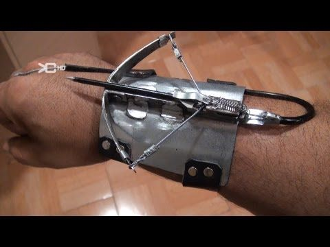 Ballesta Mini crossbow Spiderman - YouTube