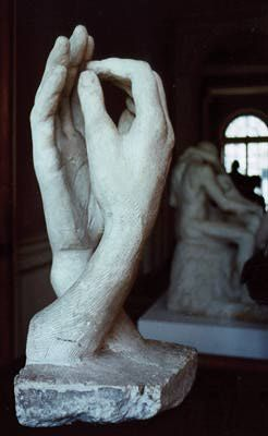 The Cathedrale by Rodin